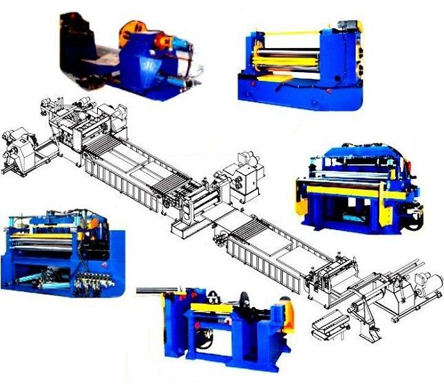 Professional Automatic Steel Sheet Slitting Machine