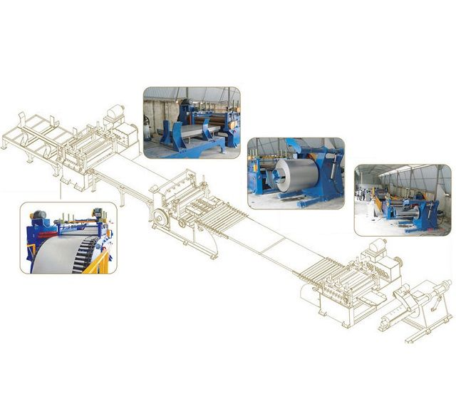 CNC Steel Sheet Leveling & Shearing Machine